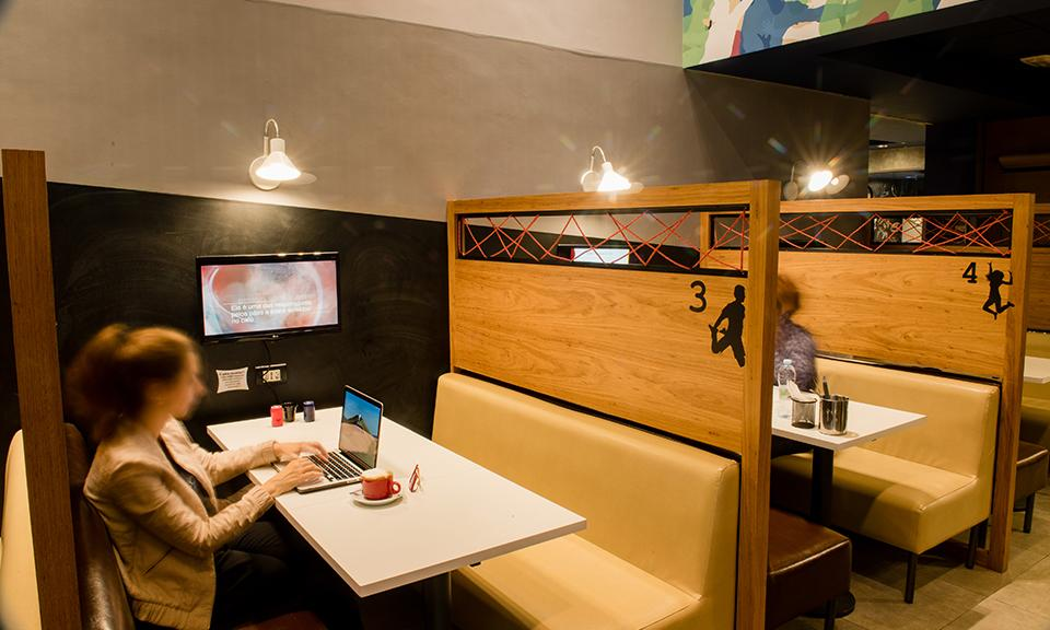 Trampolim Startup Café - Café, restaurante e coworking na Consolação