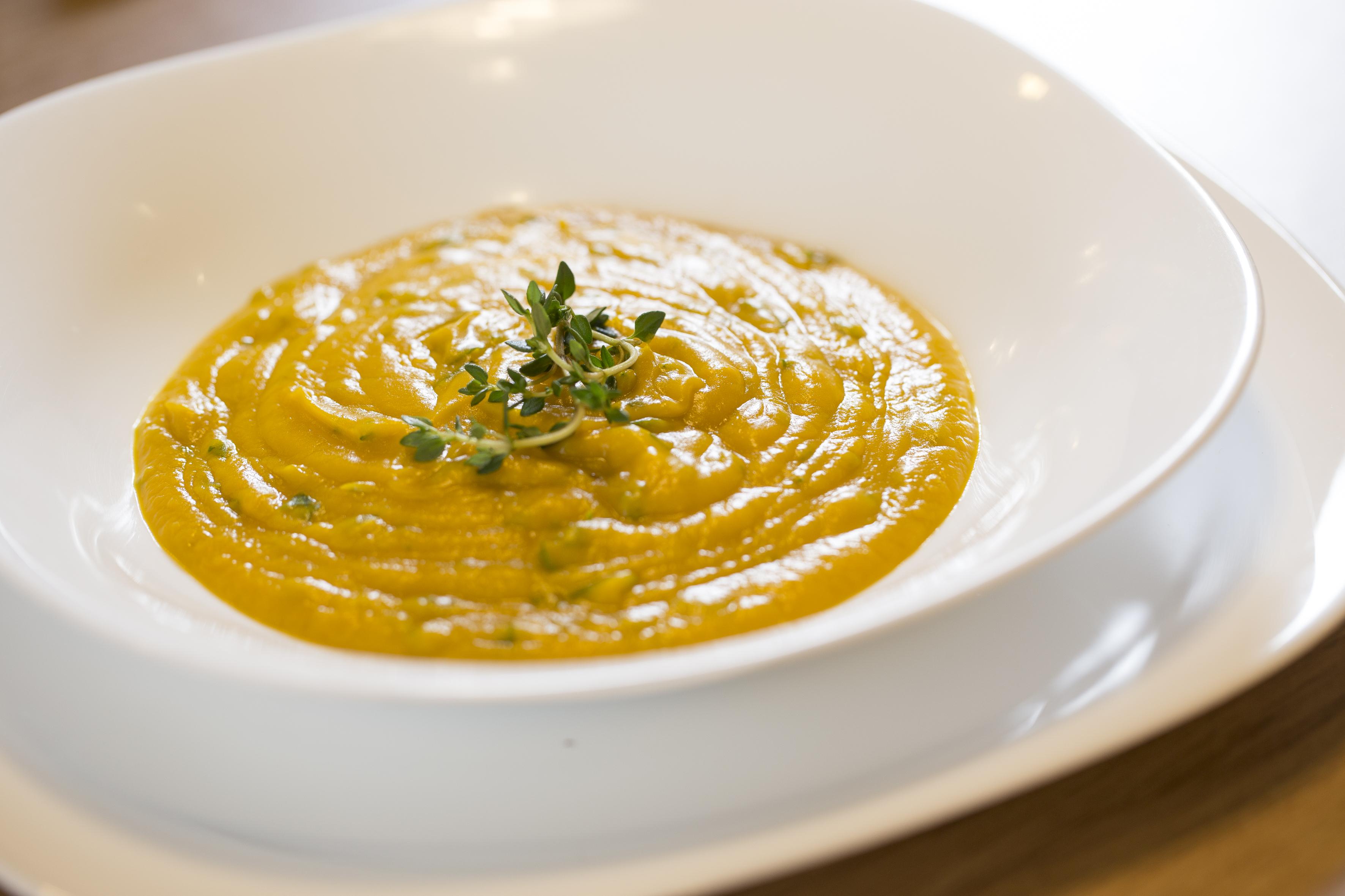Nossa sopa de abóbora ajuda a perder peso