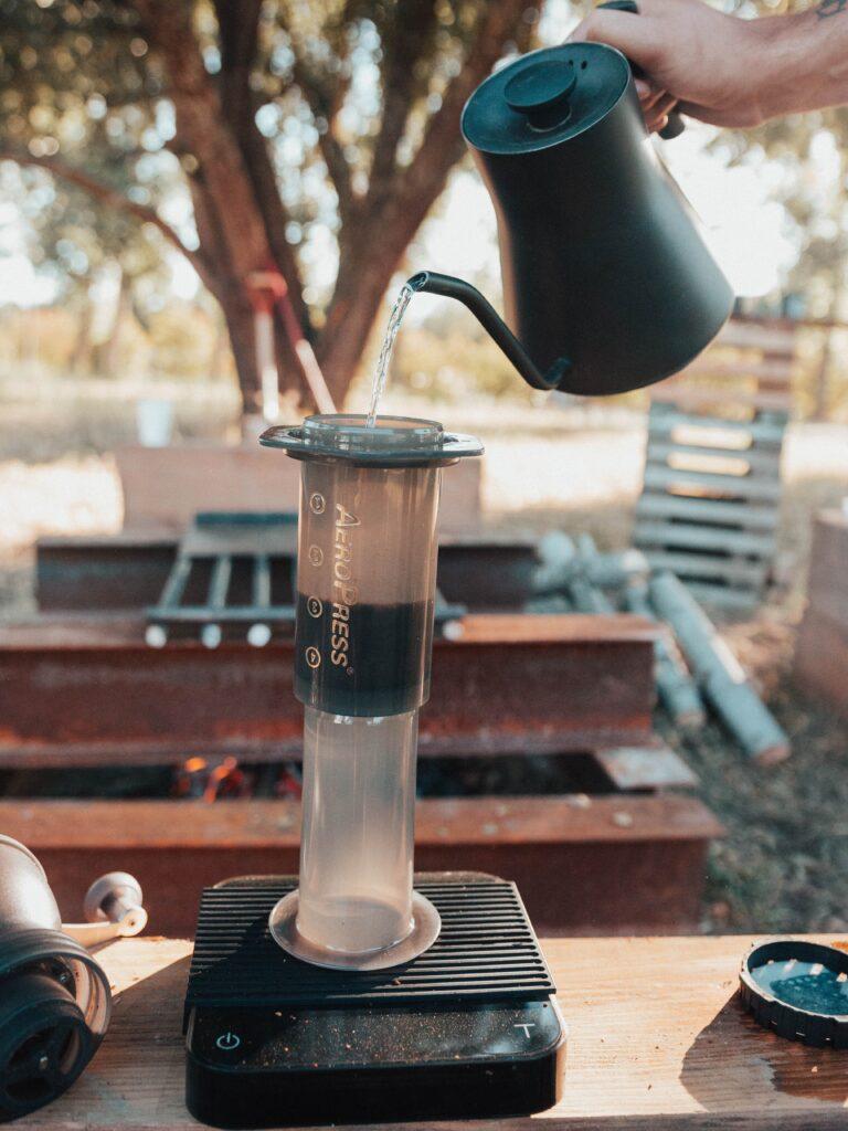 extração café_aeropress