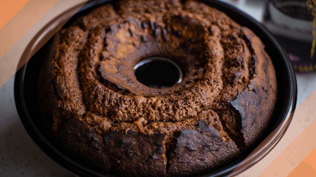 receita de bolo de café com calda de laranja